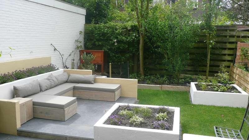 Loungen in je achtertuin
