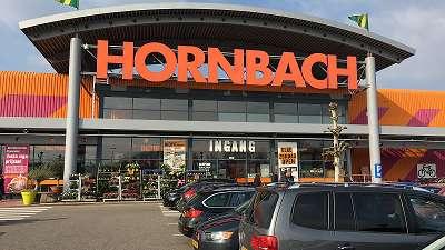 Steigerhout bij hornbach
